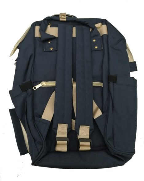 خرید کیف لوازم نوزاد سورمه ای مدل BA114