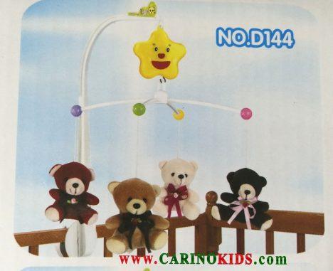 نمای آویزان آویزتخت کودک مدلD146