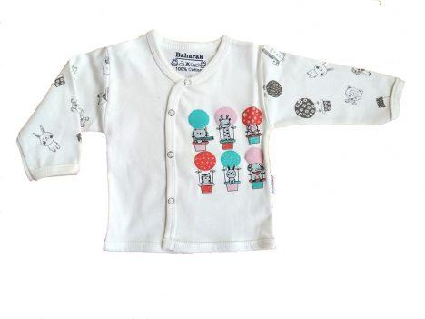 تیشرت آستین بلند نوزادی از ست بهارک