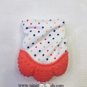 دستکش دندانگیر نارنجی