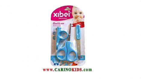 ست بهداشتی نوزاد xlbei آبی رنگ