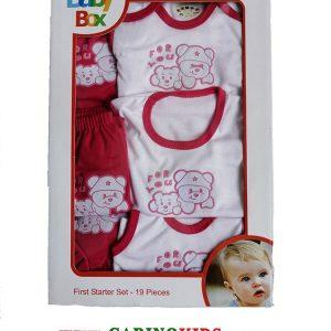 ست لباس نوزادی 19 تکه بیبی باکس مدل BK212