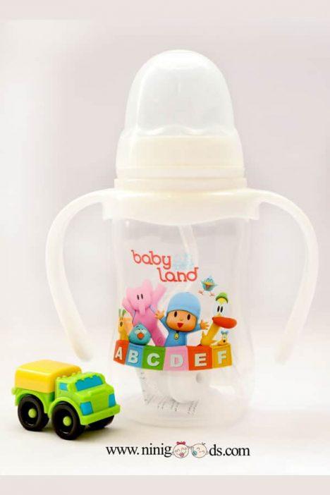 شیشه شیر اتومات بیبی لند ظرفیت 150 میل مدل 360
