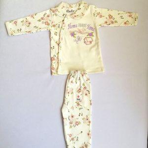 لباس نوزادی جلو دکمه 100% نخی سایز صفر