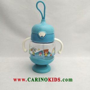 لیوان نی دار کودک مدل GL253 رنگ آبی