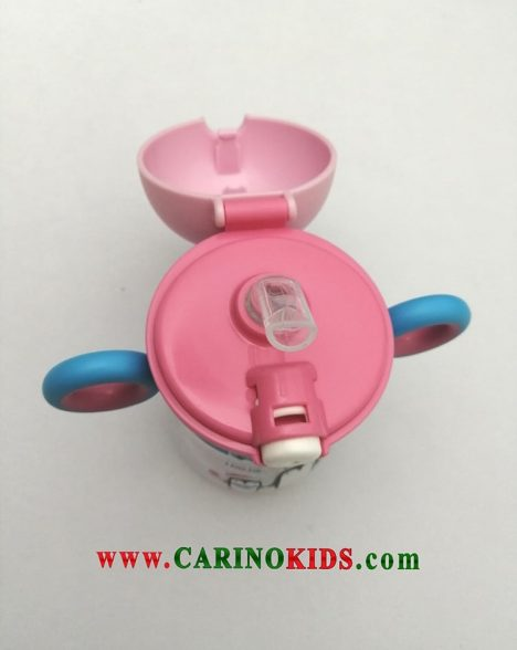نمونه بازشده لیوان نی دار کودک مدل GL645