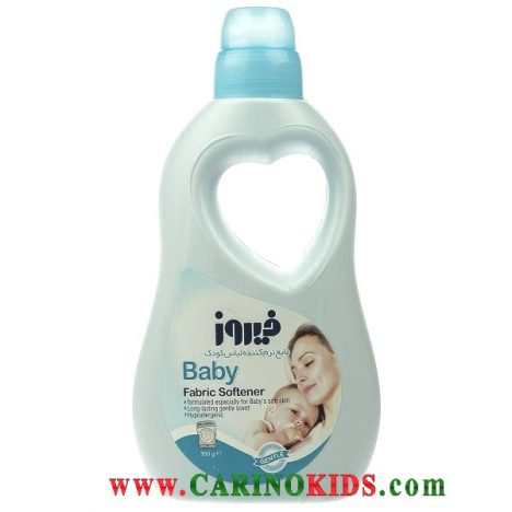 مایع نرم کننده لباس کودک آبی 1 لیتری فیروز
