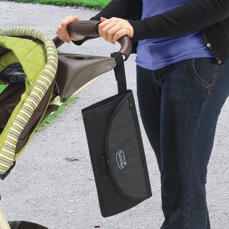 نمای به نفریح بردن زیر انداز تعویض نوزاد مسافرتی سامر SUMMER