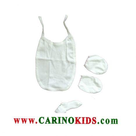 پیشبند و دستکش نوزادی