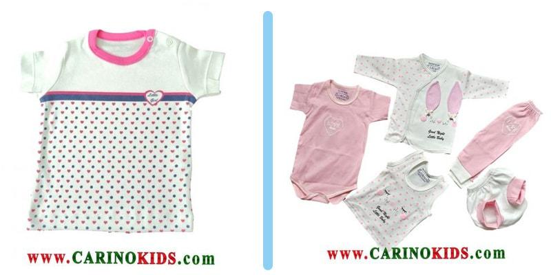 انواع لباس نوزادی