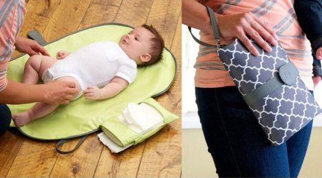 زیرانداز تعویض نوزاد مسافرتی